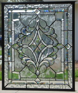 Stained Glass Window Hanging 24 1 2 X 20 1 2