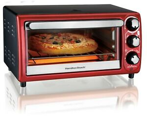 Mini 5 Settings 4 Slice Toaster Oven In Charcoal Bake Broil 9 Pizza Rv Counter
