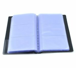 Name Id Leather Business Credit Card Holder Book Case Keeper Organizer 300 Cards