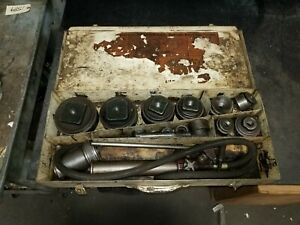 Blackhawk Hydraulic Knock out Punch And Die Set 4 To 1 2
