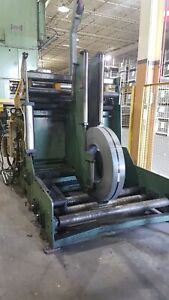 20 000 Lb Capacity Mecon Coil Cradle Servo Feed Line For Sale