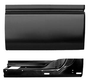 Door Skin Inner Door Bottom Kit 3rd Door For 94 04 Chevy S10 Gmc Sonoma Left