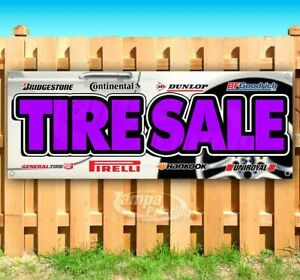 Tire Sale Advertising Vinyl Banner Flag Sign Many Sizes Available Usa Mechanic