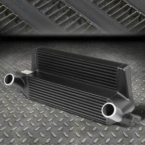 For 15 19 Ford Mustang 2 3l Ecoboost Stepped Bar plate Front Mount Intercooler