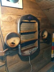 Model A Ford Radiator Shell Shelf Wall Hanginger Mancave Decor Hot Rat Rod Light