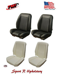 Sport R Front rear Bucket Seat Upholstery Foam For 1968 Chevelle tmi In Usa