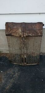 Antique Or Vtg Radiator Grill Cover Rat Rod Car Tractor Steampunk