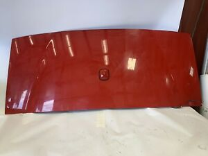 2005 2013 C6 Corvette Targa Top Roof Roof Panel Gm Oem Victory Red W antenna