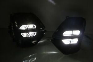 Pair Led Drl Daytime Running Fog Light Lamp For Kia Sportage 2019 2020 Us Stock