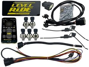 Level Ride Air Suspension Pressure Only Bluetooth Controller W 3 Preset