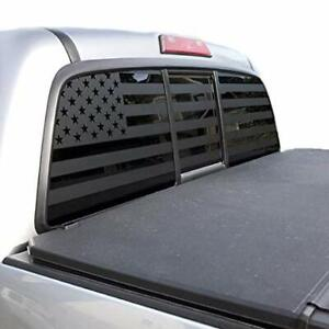 Usa Flag Decal For Toyota Tacoma Rear Window 2005 2019 Double Cab Trd Pro Tp3