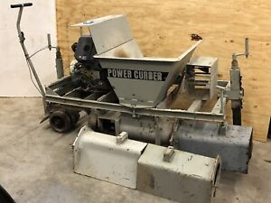 Power Curber Pc 150 Concrete Curb Machine Extruder Nice Shape Multiple Forms