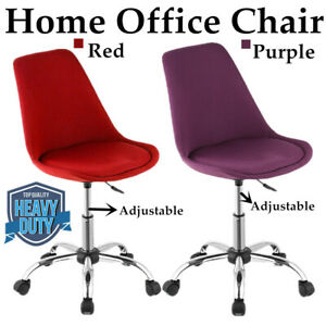 Lot Sale Office Executive Chair Task Desk Adjustable Swivel W rolling Wheel C4r1