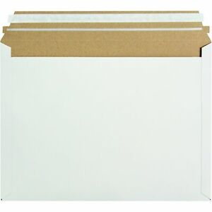 Box Usa Bprm1ep Express Pouch Mailer 12 1 2 X 9 1 2 White Pack Of 250