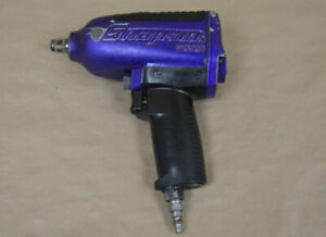 Snap on Mg725 1 2 Drive Pneumatic Air Impact Socket Wrench Purple