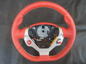 Ferrari California Sport F1 Switch Steering Wheel Red Leather