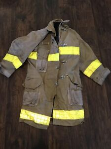 Janesville Firefighter Turnout Gear Jacket Coat 46x44x35 Long Coat