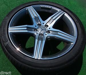 Factory Amg Mercedes Benz S63 Wheels Tires Set 2018 Genuine Oem S65 Forged S550