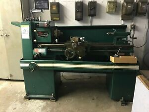 Logan Powermatic Metal Lathe 14 Model No 6565 D4h