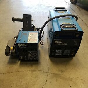 Miller Xmt 304 Cc cv Stock 903471 Multipurpose Welder W S 64 Stock131786 Feeder