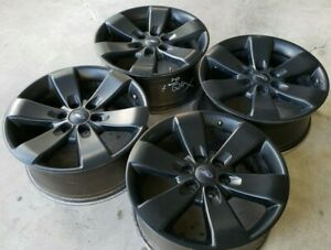 20 Ford Black F150 Expedition Oem Factory Stock Wheels Rims King Platinum Fx4