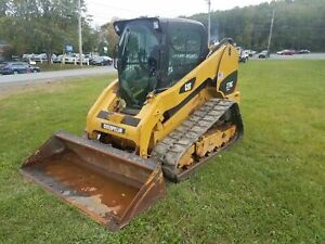 2010 Caterpillar 279c Compact Track Loader Skid Steer Heat A c