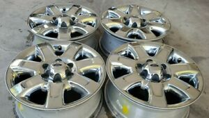 18 Ford F150 Chrome Expedition Fx4 Ranch Platinum Oem Factory Stock Wheels Rims