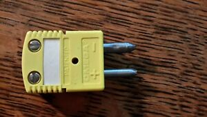 Omega K Thermocouple Connector Standard Male Pack Of 12