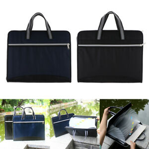 Expandable File Folders A4 Paper Waterproof Document Storage Holder Case
