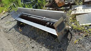 Buyers Saltdogg 8ft Stainless Steel Hydraulic Under Tailgate Salt Spreader