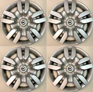 4 New 16 Hubcap Fits Nissan Altima 2009 2012 Bolt On Wheel Cover