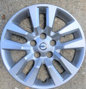 1 New 16 Silver Hub Cap Wheelcover That Fit 2007 2018 Nissan Altima Wheel
