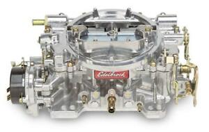 Edelbrock 1406 600 Cfm Remanufactured Carburetor Electric Choke