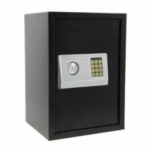 Security Lock Digital Safe Depository Drop Box Double Door Cash Office