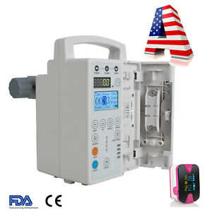 Vet Veterinary Lcd Infusion Pump Iv And Fluid Administration Kvo Purge Alarm Pro