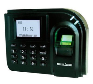 Zk F1 Fingerprint Biometric Password Keypad Lcd Display Access Control Reader Us