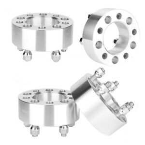 4pcs 2 In Thick 5x114 3mm 5x4 5in Car Wheel Spacer Kit For 06 12 Jeep Liberty
