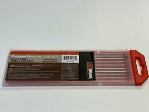 2 Thoriated Tig Welding Tungsten Electrodes 3 32 red wt20 Free Quick ship