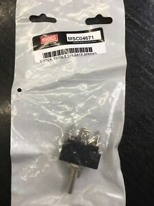 Boss Part Msc04671 Tailgate Spreader Toggle Switch