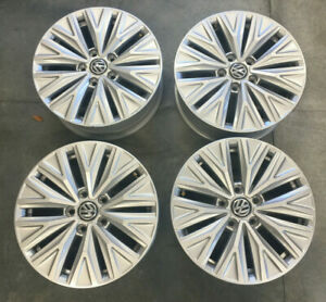 Rare Set16 Volkswagen Vw Jetta Alloy Wheels Oem Rims 2019 2018