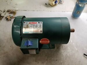 New Leeson 2 Hp Electric Ac Motor 208 230 460 Vac 1745 Rpm 3 Phase 121181 00