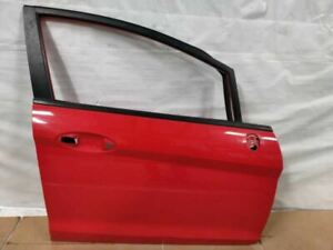 2011 2017 Ford Fiesta Right Passenger Front Door Shell Molten Orange Oem