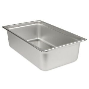 Stainless Steel Steam Pan Full 6