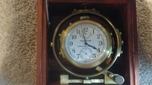 Ww Ii Hamilton U S Navy Ship Mounted Chronometer Watch Model 22