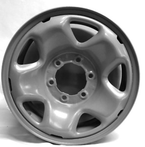 16 Inch 6 On 5 5 Silver Steel Wheel Rim Fits Tacoma 2005 2015 We95496t