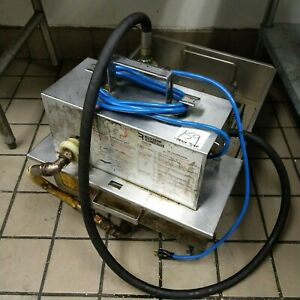 Rti Restaurant Technologies 65lb Deep Fryer Oil Pump Filter Machine 115v Used Ok