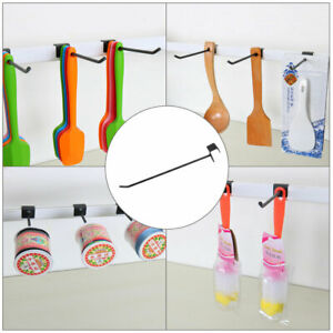 Slat Wall Hooks 1 8 Inch Dia Metal Board Rack For Store Display Products