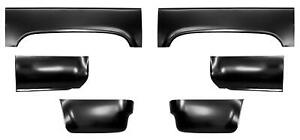 Wheel Arch Front Rear Lower Bed Sections Kit 6 5 Bed For 73 87 Chevy Pickup
