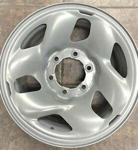 16 Inch 6 On 5 5 Silver Steel Wheels Fits 4 Runner Tacoma Tundra We21496t