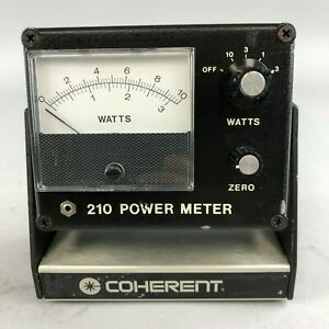 Coherent 210 Power Meter Without Probe